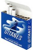 2 Cartons Gitanes Brunes Non Filter